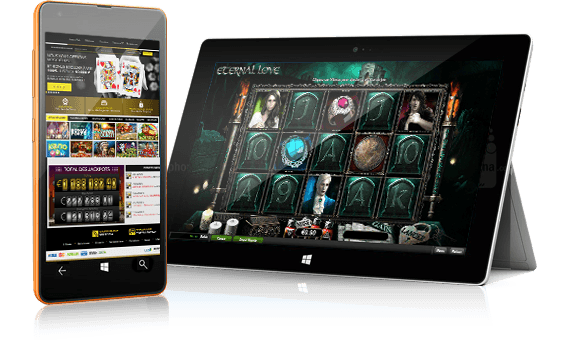 Slot games on Apple devices
